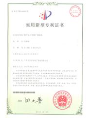 IP體系適用新型專利證書