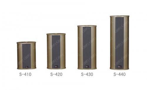 双面室外豪华型防水音柱