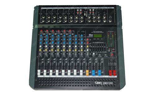 DMX系列两编组调音台