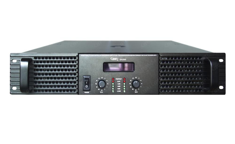 SA系列带屏功率放大器